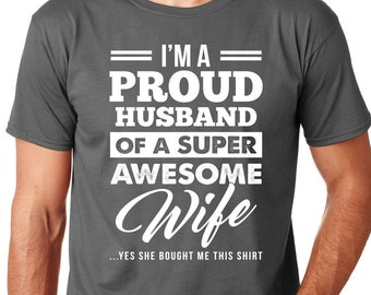 Greatest Spouse Anniversary Love My She Juniors V-Neck T-Shirt Best Wife Ever