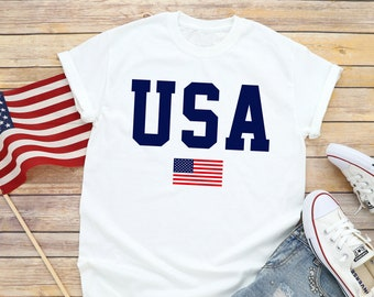 078a0cfe Usa tshirt | Etsy