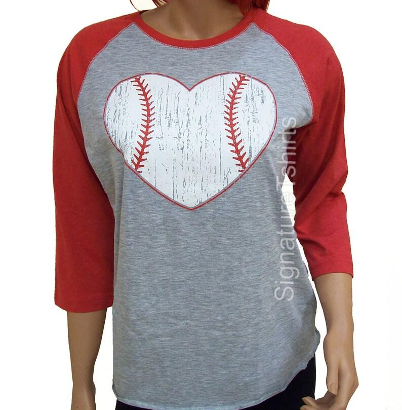 2b7517ef Baseball. Baseball shirt. Baseball Raglan. Baseball womens   Etsy