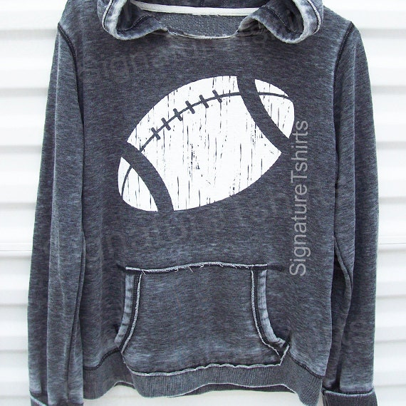 Football Girly Pullover Hoodie Sweatshirt womens sweater sport hooded sweatshirt football jersey Christmas Gift