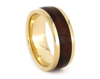 Gold Wedding Ring w Jasper Inlay, Gold Wedding Band, Jasper Wedding Ring, Unique Wedding Ring, Custom Wedding Bands