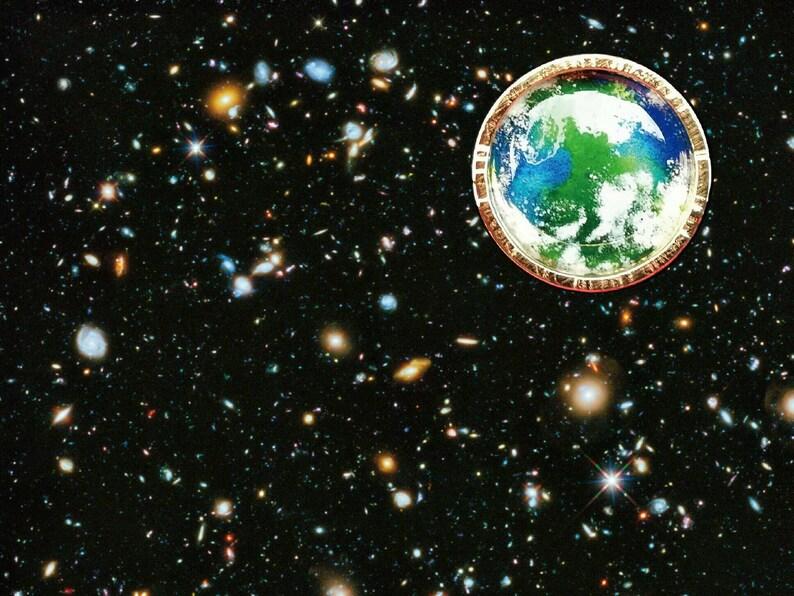 Planet Earth Sticker El Dorado image 1