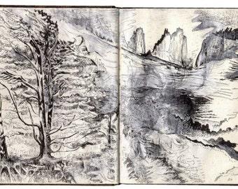 Travel Book II : Taiwan, America | Travel Sketchbook - Artist's Book - 1st Edition