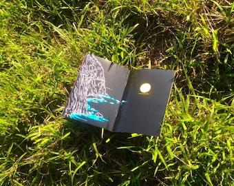 Liuyingchieh Travel Book Ching Shui Cliff Huide CMYK Day Night Sunris Sunset Moon Rise Artist's Book Art Zine