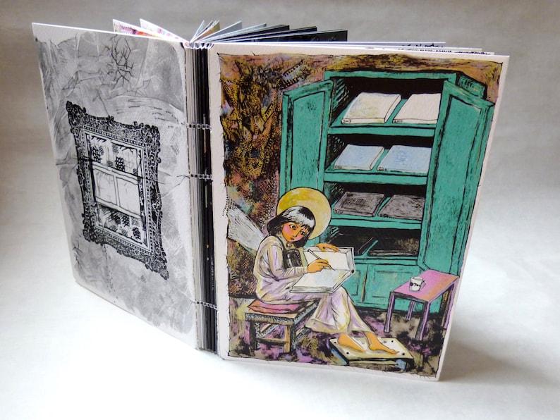 W-LB-G-B-B-G-LB-W   Artist's Book  Travel Sketchbook  image 0