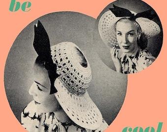1947 Crochet Picture Hat Pattern