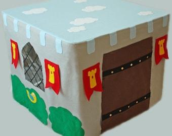 Castlefort - ePattern for a Castle Card Table Fort