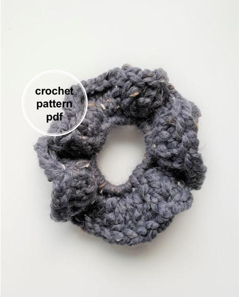 Scrunchie Pattern Crochet Scrunchie Pattern Crochet Pattern image 0