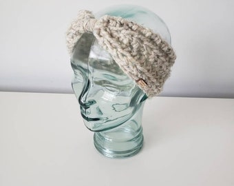 Crochet Earwarmer Headband, Ear Warmer, Head Band