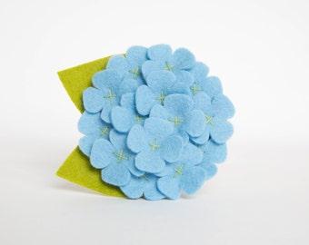 Dog Collar Flower - Light Blue Hydrangea