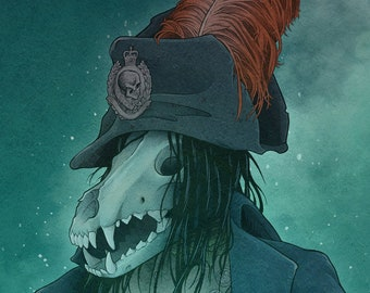 Ghost of the Commander - Art Print