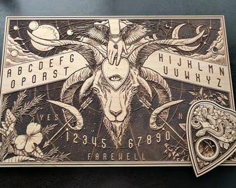 Ouija Board - laser carved