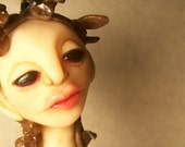Medusa decorative art doll by mealy monster