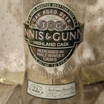 Innis & Gunn Limited Edition Oak Aged Highland Ale: Upcycled IPA Bottle Accent Lighting