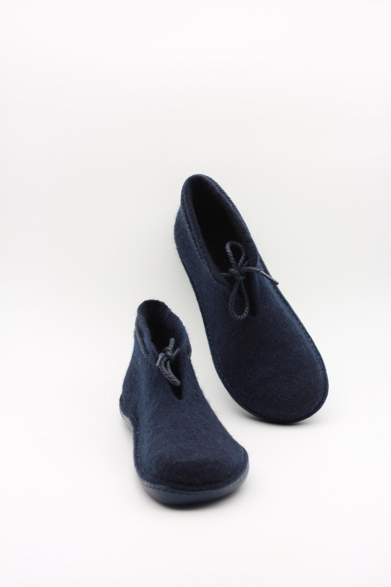 e77304a3b7605 LUCIELALUNE handmade felted wool women ankle boots rubber soles outdoor  shoes ASB17