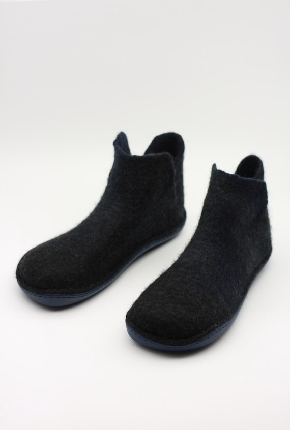 10 Pairs 4mm Thick Felted Wool Insoles Winter Warm Shoe Boot Inner Soles