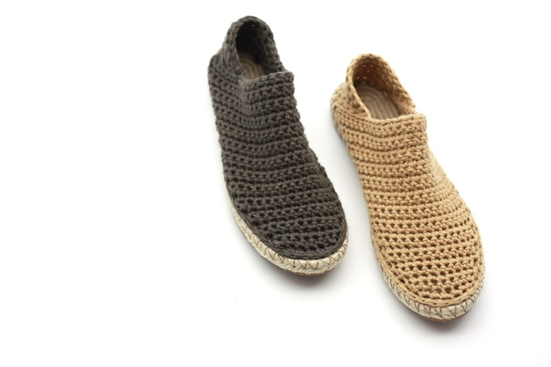 f361d8897a141 LUCIELALUNE /Espadrilles loafers / women spring summer sandals shoes /hand  crochet cotton /colors options/ASCRO-A