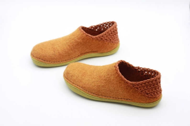 6b428a3fc5314 LUCIELALUNE Spring women barefoot shoes handmade felted merino wool ASM