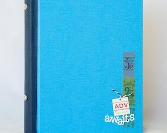Adventure Awaits Altered Book Journal