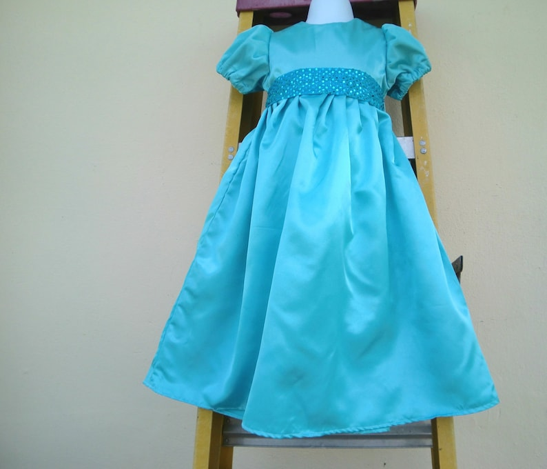Nightgown  Wendy Darling Dress   Costume in blue sateen  e31f823e0