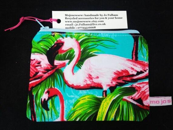 FLAMINGO PURSES PURSE PINK MONEY COINS FLAMINGOS BIRD GIFT IDEA KID/'S ADULTS TRE
