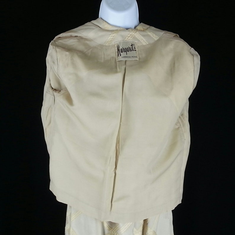 Vintage 1950s jacket and skirt set outfit size small chest 36 waist 26