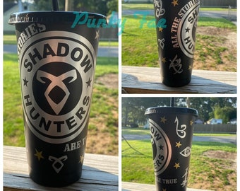 Shadowhunters Inspired 24oz Starbucks Cold Cup