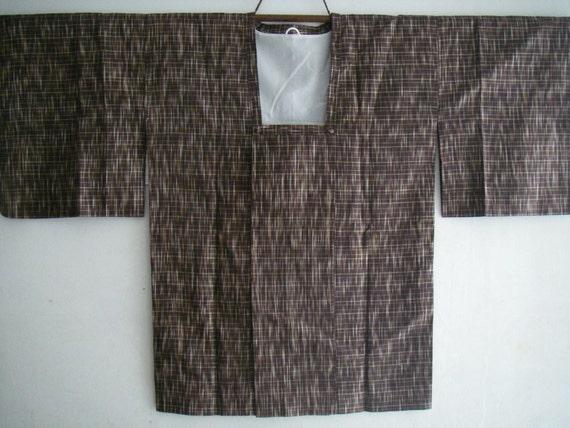 Haori kimono jacket  Vintage japanese silk haori jacket  No 2008017