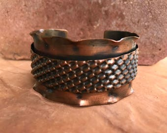 Copper bracelet, Cuff bracelet