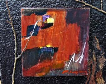 Original  Acrylic Painting Mixed Media Abstract Contemporary Art