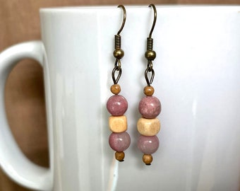 Earrings - Bird's Nest...Extreme Decaf...FREE U.S. SHIPPING