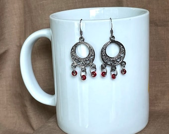 Earrings - Beat the Band...Extreme Decaf...FREE U.S. SHIPPING