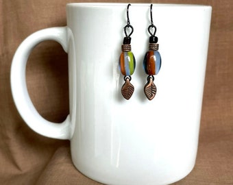 Earrings - Willows!...Extreme Decaf...FREE U.S. SHIPPING