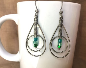 Earrings - JULY 16...Extreme Decaf...FREE U.S. SHIPPING