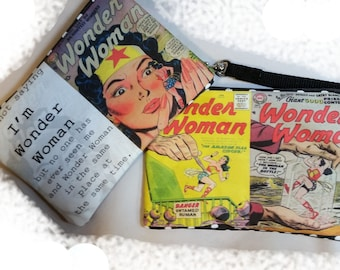 Wonder Woman Wristlet Free Shipping