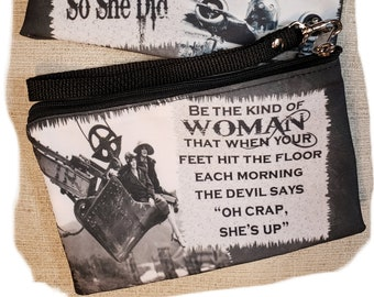 She Believed She Could So She Did Wristlet - Free Shipping