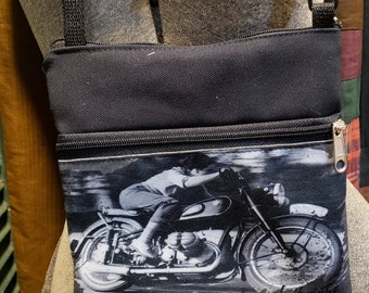Women on  Motorcycles Travel Purse -  Free Shipping.
