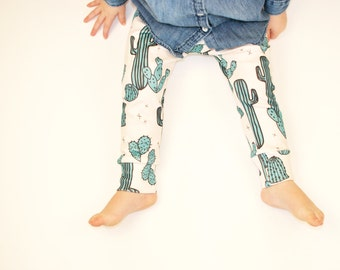 a29e22900b955a baby clothes // organic cactus leggings // baby leggings // baby pants //  toddler pants / kids clothes / baby clothing / boys pants /