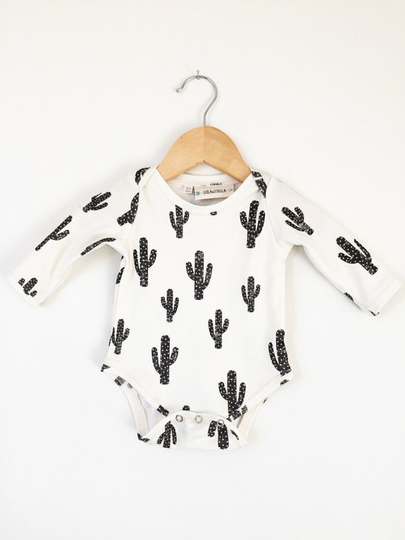 Cactus Baby Onesie Organic Baby Clothes Baby