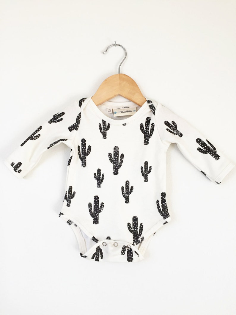 1def610d4 Cactus baby onesie    organic baby clothes    baby clothing