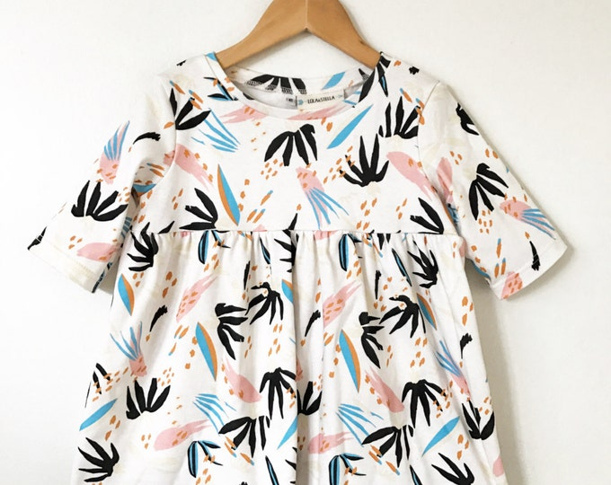 tunic in adobo // baby girls clothing // girls tunic // childrens clothing // girls clothing // girls tunic // baby clothes // girls shirt