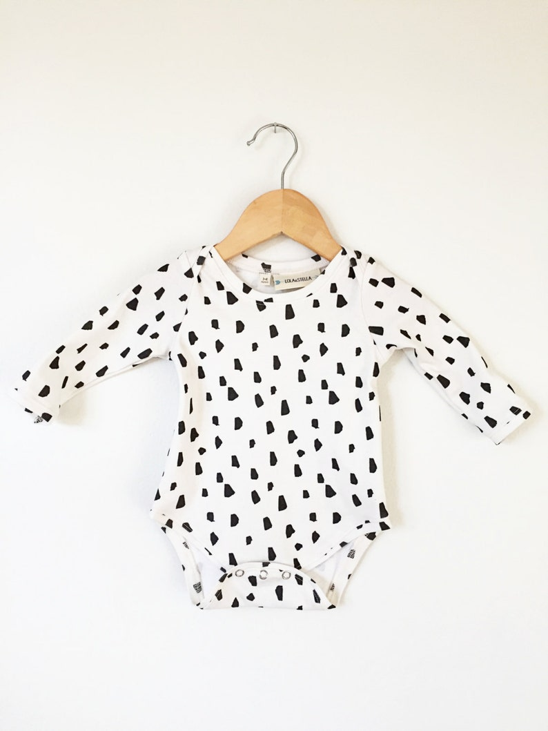 778de6c93 Baby onesie Organic baby onesie baby bodysuit in brushstroke