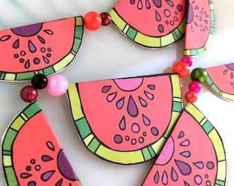 Watermelon Garland