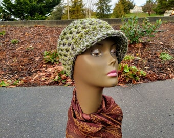 SLOUCH HAT Small Tam Crochet Hat Rasta Hat for Women Dread Hat Tam Hat Hippie Hat Womens Crochet Hat Rasta Clothing Hippie Hat Multicolor S