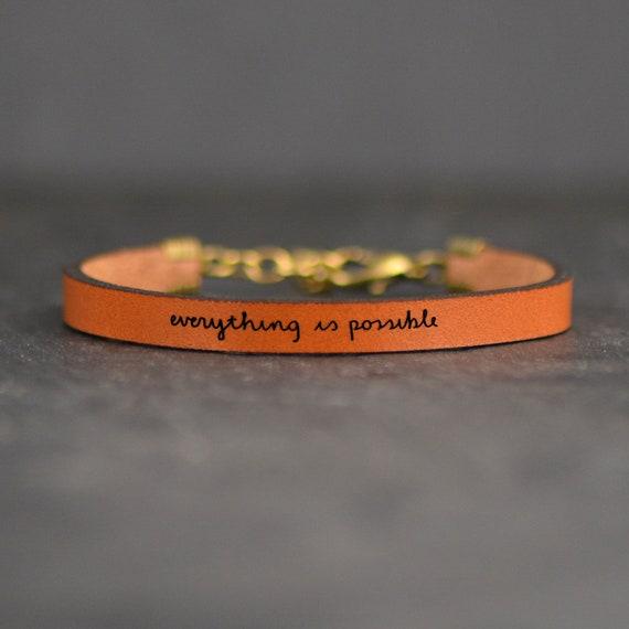 inspiring jewelry inspirational bracelet inspirational quotes