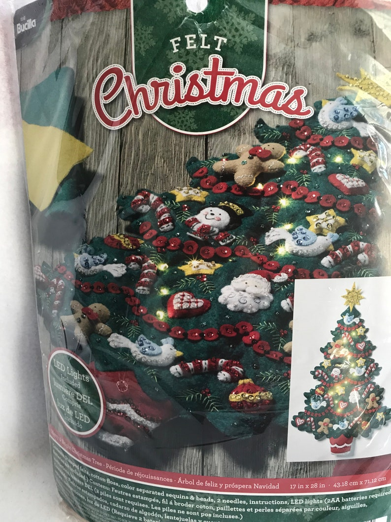 Exquisite 26 Ornaments Including Star of David *READY TO SHIP* New Bucilla Christmas Tree