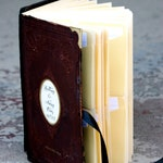 Custom Wedding Guest Book with Library Cards