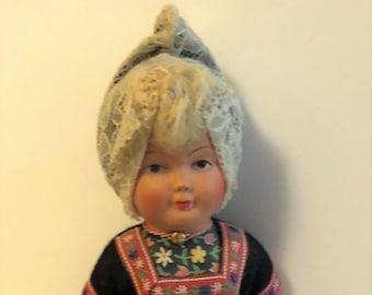 Dovina Celluloid Dutch Doll
