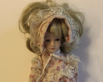 Porcelain Doll - Needs Refurbishing