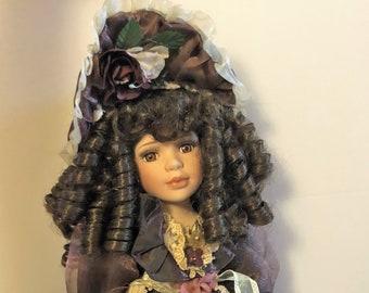 Porcelain Goldenvale Victorian Doll